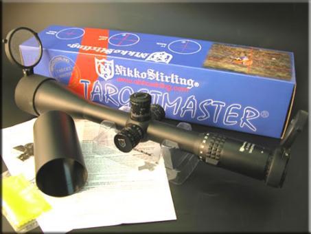 Zielfernrohr Nikko Stirling TARGET MASTER 10-50x60 MD MIL DOT Sniper-Absehen beleuchtet