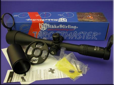 Zielfernrohr Nikko Stirling TARGET-MASTER 6-24x56 Abs: FT beleuchtet