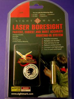Sight-Mark Justier Laser-Patrone für Kal. 223Rem, 222Rem, 6x47, 5,6x47