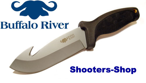 Buffalo~River Jagdmesser BRKM-105 mit Aufbruchklinge Stainless-Steel
