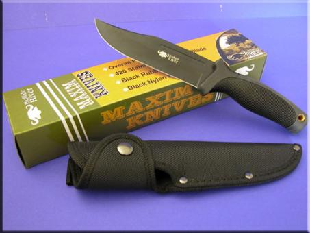 Buffalo~River Jagdmesser BRKM-110 Black Titanium