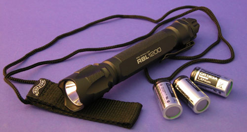 Walther RBL1200 Tactical LUXEON LED Hochleistungslampe 220 Lumen