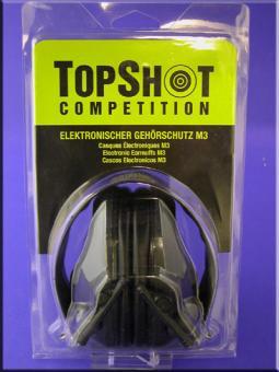 TOP-SHOT Competition-M3 elektronischer Aktiv Gehörschutz