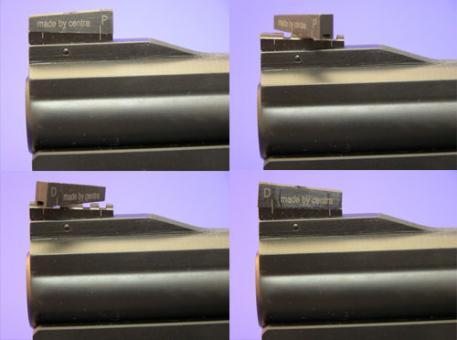 Centra Drehkorn für Smith & Wesson Revolver zum verstiften, 3,5mm