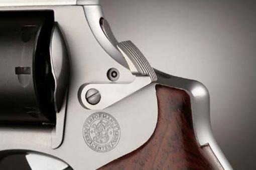 Extendet Cylinder Release-Longslide für S&W Revolver STAINLESS /BRÜNIERT ODER SATINIERT
