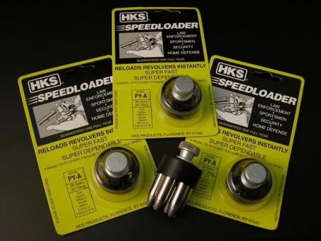 HKS - Speedloader Mod. PY-A, 3Stück