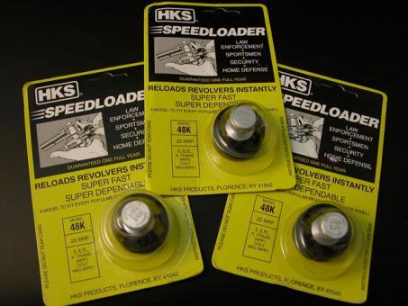 HKS Speedloader Mod. 48-K, 3 Stück