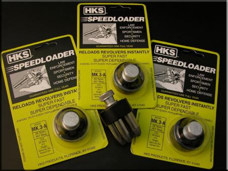 HKS Speedloader Mod. MK3-A, 3Stück