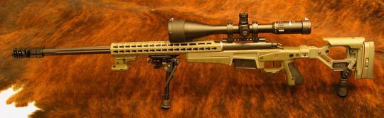 Accuracy Sniper .308 Win Custom-Made AICS-AX Skeleton-Klappschaft System Remington 700 L.Walther Matchlauf AR15-Auszieher, Ebi-Bremse
