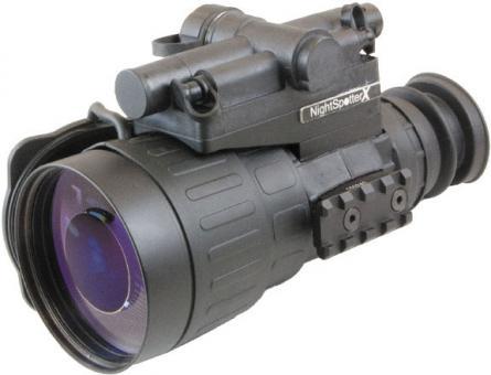 Nachtsicht Vorsatzgerät Eurohunt Nightspotter X High-Resolution Gen 2+ grün mit BKA Bescheid Nachtsichtgerät