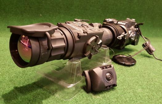 @ Wärmebild Vorsatzgerät Eurohunt Nightspotter T42 mit BKA Bescheid Wärmebilgerät Thermal Vision